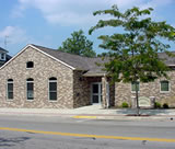 A picture of the Jeffersonville Branch of the Carnegie Public Library